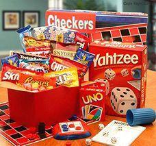 Board game gift basket Follow us on Twitter @Lynne {Papermash} Schneider For Life of Vinings - Smyrna, GA and Like us on http://facebook.com/RelayForLifeOfViningsSmyrnaGA Get involved or make a tax-deductible donation>> https://RelayForLife.org/ViningsSmyrnaGA