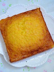 Peng's Kitchen: Kuih Bingka Ambon (Indonesian Honeycomb Cake)