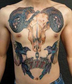 Animal-Skull-Tattoo-22463