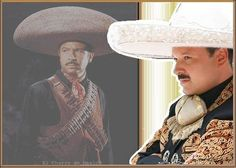 Pepe Aguilar and his famous father Antonio Aguilar in the background