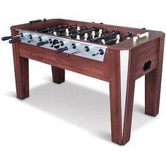 Foosball-Soccer-Table-60-Competition-Sized-Arcade-Game-Room-Hockey-Fooseball