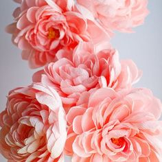 Pink peonies for days. My next installment has so many components to it and I can't wait to show you. Today I spent all my time in my studio cutting and shaping so many petals. I listen to webinars, watched some tv shows and listened to some music - what do you have in the background while you are working? . . . #paperflowers #seattleflorist #paperflorist #crepepaperflowers #larsflowers #bhgflowers #dspink #dsfloral #weddingdetails #weddingflowers #weddinginspiration #etsy #etsyfinds…