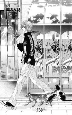 Kyou Koi wo Hajimemasu 36 - Page 1 Anime Love, Anime Guys, Manga Anime, Kyou Koi Wo Hajimemasu, Manga Artist, Shoujo, Fan Art, Reading, Cats