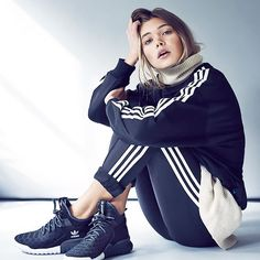 Adidas Women Shoes - adidas Originals Tubular X Premium Primeknit - We reveal the news in sneakers for spring summer 2017 Sport Fashion, Look Fashion, Fitness Fashion, Fashion Shoes, Fashion Men, Sport Outfits, Casual Outfits, T Shirt Pink, Style Sportif