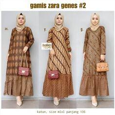 Model Dress Batik, Batik Dress, Batik Fashion, Hijab Fashion, Batik Muslim, Dress Batik Kombinasi, Mode Abaya, Muslim Women Fashion, Abaya Designs