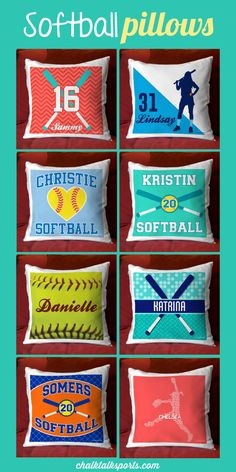 There's something for every room of a softball player's home with our wide variety of softball room décor for amazing gifts for players and whole teams. Senior Softball, Softball Quotes, Softball Pictures, Softball Mom, Softball Players, Fastpitch Softball, Softball Stuff, Softball Room Decor, Softball Bedroom