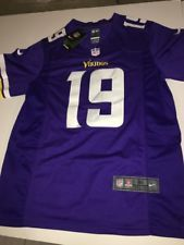 fc51bbe8e Adam Thielen Minnesota Vikings  19 Nike On Field PURPLE Jersey Men s MEDIUM  NFL
