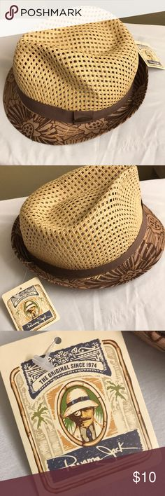 2ec708baf5c9d Panama Jack Fedora Style Hat New Panama Jack Accessories Hats