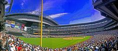 Safeco Field, the home of the Seattle Mariners