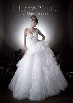 """Max Chaoul """"I Love You"""" Bridal Collection"""