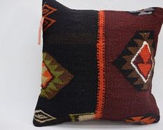 kilim pillow turkish rug oushak rug by kilimpillowmodaline Kilim Pillows, Throw Pillows, Couch Design, Rugs, Farmhouse Rugs, Toss Pillows, Cushions, Decorative Pillows, Decor Pillows
