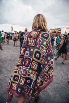 Carnaby Crochet Throw Bluesfest 2016 Festival Style | Spell & The Gypsy Collective