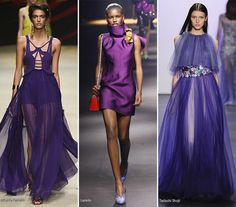 Spring/ Summer 2016 Color Trends: Amethyst Purple  #trends #fashion #SS2016