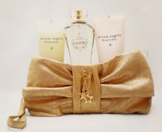 d73c57ebb0 Victoria Secret Dream Angels Heavenly Body Lotion Body Mist and Wash Gift  Set Bag Purse by