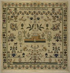 Sampler | Stephens, Sophia | V&A Search the Collections