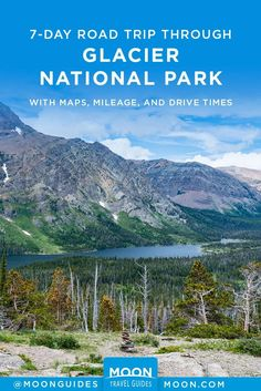 Plan your week-long road trip through Montana's Glacier National Park with this itinerary, which includes maps, mileage, and drive time estimations. #montana #GlacierNationalPark #NationalParks #RoadTrip Beautiful Places To Travel, Best Places To Travel, Waterton Lakes National Park, National Parks, Many Glacier Hotel, Drive Time, Glacier Park, Park Lodge, Road Trip Usa