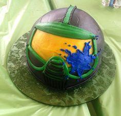 Výsledek obrázku pro dort paintball