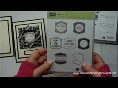 Todays video we used the Decorative Dots embossing folder from Sale-a-Bration 2014 , Label Love stamp set  with Gifts of Kindness . We will be making the full card but really excited about the Origami Frame , Check it out today on my blog