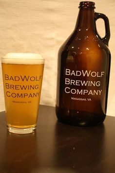BadWolf Brewing Company, Manassas, VA. One of the stops along the unofficial Virginia Howler and Growler Craft Beer Tour. #vabeermonth #craftbeer
