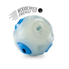 Piper the border collie would have loved this Orbee Tuff Whistle Ball--glow in the dark  and whistling!