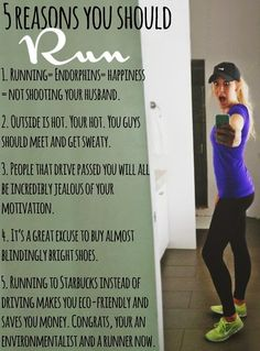 5 Reasons You Should Start Running Today