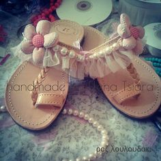 elenas sandals: Σανδάλια 2014 Greek Sandals, Palm Beach Sandals, Kids Sandals, Shoes Sandals, Huarache, Star Shoes, Butterfly Crafts, Summer Fun, Wedding Shoes