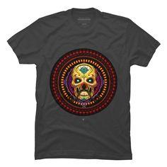 Dia de los muertos Men's T-Shirt