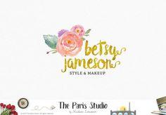 Floral Bouquet Logo Design Pay As You Go Custom Logo Design