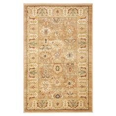 Turkish-made rug with a botanical motif.  Product: RugConstruction Material: PolypropyleneColor: