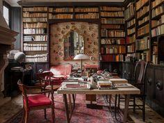 Mr Perlman's study. Photography: Giulio Ghirardi