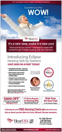 Hear USA in St Clair Shores, call toll free at 855-203-5918.  For people who want to hear better!