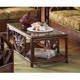 Found it at Wayfair - Cancun Palm Coffee Table