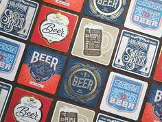 Kickstarter: Beer Press Coasters