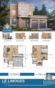 Modèle de maison neuve: Le Limoges