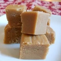 Creamy eggnog, sugar, marshmallows, white chocolate chips and almonds are combined to make this fudge that's perfect for the holidays.  The almonds are optional, or substitute your favorite nuts.