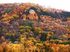 Mississippi River Bluffs (Winona, MN)