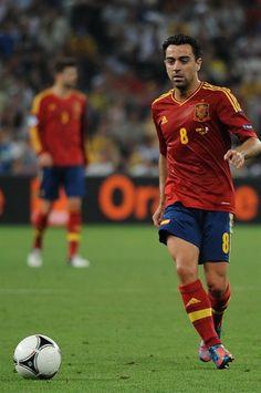 Xavi Hernández (born 1980), midfielder and FC Barcelona player. UEFA Euro 2008 MVP.
