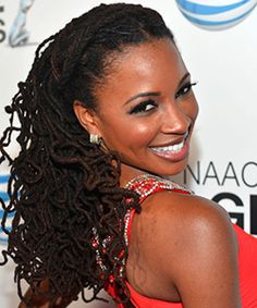 actress Shanola Hampton's locs.