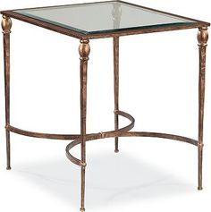 "heron end table, 22""w x 25.25""h x 28""d, $583 on sale 