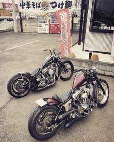 Harley Davidson Bobber, Harley Davidson Custom, Harley Davidson Pictures, Harley Panhead, Classic Harley Davidson, Softail Bobber, Bobber Bikes, Bobber Chopper, Moped Motorcycle