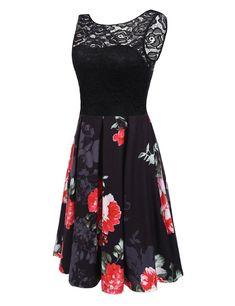 6c9dbd06fb2 Beyove Women s Boho Tank Maxi Dress Sleeveless Floral Beach Long Dress  Sundress at Amazon Women s Clothing store