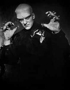 """""""The Thing from Another World"""" James Arness,1951."""