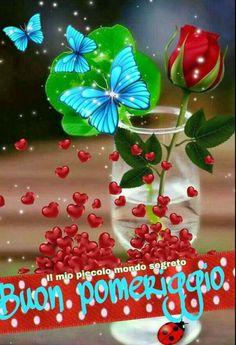 (243) Immagini e Frasi di buon pomeriggio da scaricare gratis - BuongiornoSpeciale.it Italian Memes, Good Afternoon, Christmas Bulbs, Facebook, Holiday Decor, Italy, Popular, Ideas, Frases
