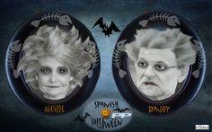 La Spanish Halloween del PP. O los cadáveres politicos.....