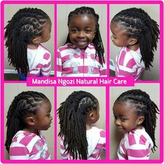 Kids locs Kids With Dreadlocks, Kids Dreads, Dreadlock Styles, Dreads Styles, Natural Afro Hairstyles, Dreadlock Hairstyles, Baby Girl Hairstyles, Black Girls Hairstyles, Natural Hair Care
