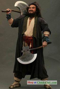Water margin opera Li Kui Fictional character costume