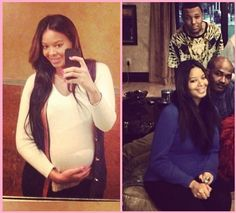 Showing and Glowing! Vanessa Simmons Shows Off Pregnant Belly