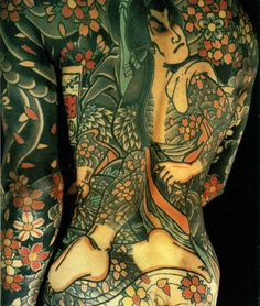 Irezumi image from the Book entitled, the Japanese Tattoo by Sandi Fellman