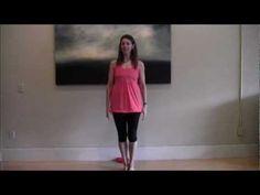 (8) Pilates Prep: Standing Warm Up - YouTube