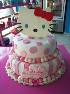 BIRTHDAY CAKES - HELLO KITTY